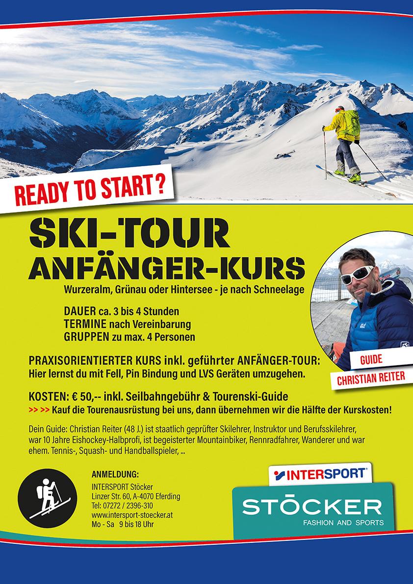 Skitour Plakat